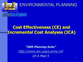 Cost Effectiveness CE and  Incremental Cost Analyses ICA