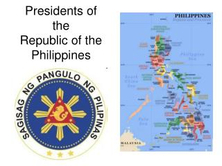 Presidents of the  Republic of the Philippines