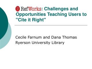 : Challenges and Opportunities Teaching Users to Cite it Right