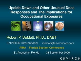 Upside-Down and Other Unusual Dose Responses and The Implications for Occupational Exposures