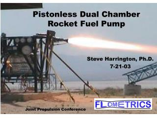 Pistonless Dual Chamber Rocket Fuel Pump