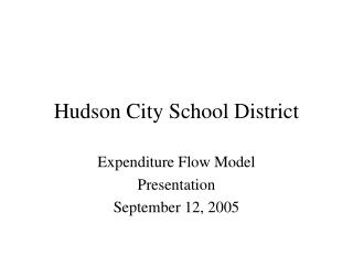 Hudson City School District