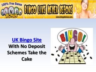 UK Bingo Site