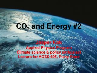 CO2 and Energy 2