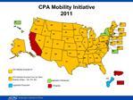 CPA Mobility Initiative 2011