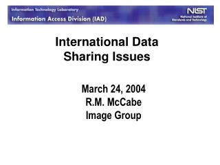 March 24, 2004 R.M. McCabe Image Group