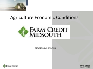 Agricultural Credit    Crop Insurance