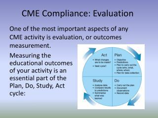 CME Compliance: Evaluation