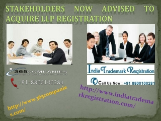 Stakeholders Now Advised to Acquire LLP Registration