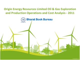 Origin Energy Resources Limited Oil & Gas Exploration and Pr