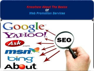 Knowhow about the Basics of Web Promotion Services