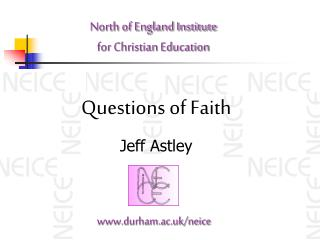 North of England Institute  for Christian Education