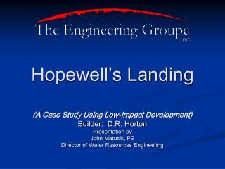 Hopewell s Landing