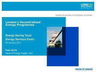 London s Decentralised Energy Programme