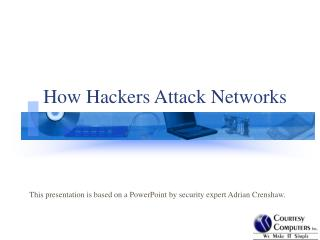 How Hackers Attack Networks