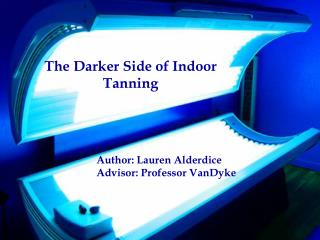 History of Indoor Tanning