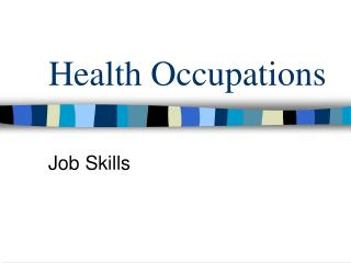 Health Occupations