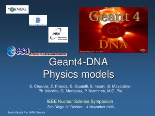 Geant4-DNA Physics models