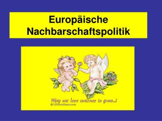 Europ ische Nachbarschaftspolitik