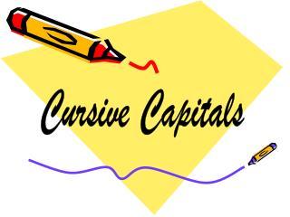 Cursive Capitals