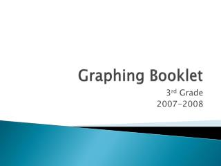 Graphing Booklet