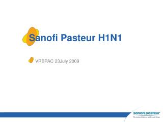 Sanofi Pasteur H1N1