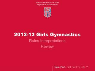 2012-13 Girls Gymnastics
