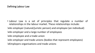 Chapter 14:  Unfair Labor Practices by Employers and Unions