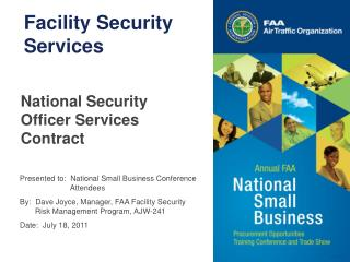 Facility Security Services