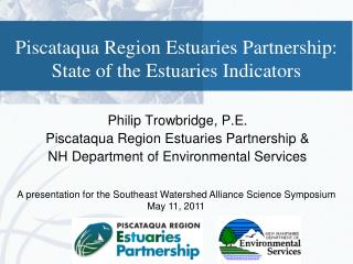 Piscataqua Region Estuaries Partnership: State of the Estuaries Indicators