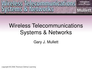 Wireless Telecommunications Systems  Networks