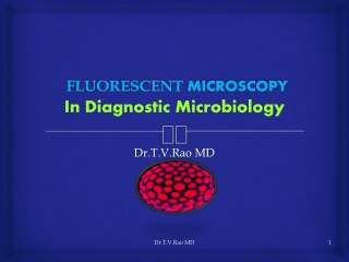 Fluorescent Microscopy in Diagnostic Microbiology