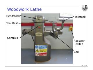 Woodwork Lathe