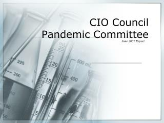 CIO Council  Pandemic Committee