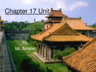 Chapter 17 Unit