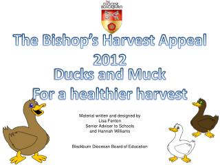 The Bishop s Harvest Appeal 2012