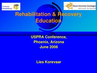 Rehabilitation  Recovery Education