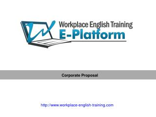 Workplace-english-training
