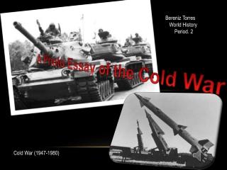 Cold War Photo Essay