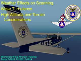 Minnesota Wing Aircrew Training:  Tasks P-2020, P-2023, P-2024