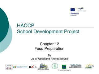 HACCP  School Development Project