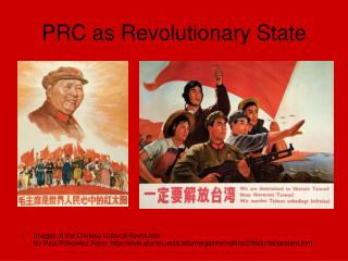 PRC as Revolutionary State