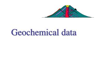 Geochemical data