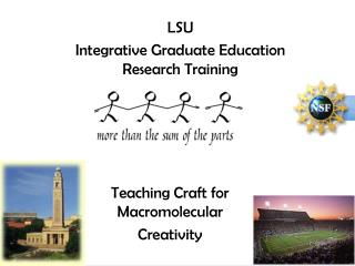 LSU  Integrative Graduate Education Research Training