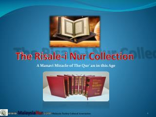 The Risale-i Nur Collection