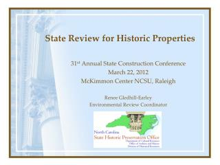 State Review for Historic Properties