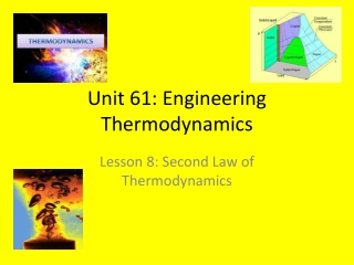 Second Law of Thermodynamics : Heat Engines  Heat Pumps