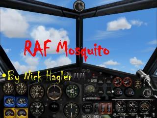 RAF Mosquito