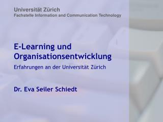 E-Learning und Organisationsentwicklung