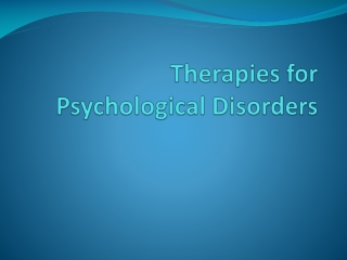 The Humanistic Approach To Treatment of Mental Disorders